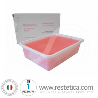 Low Melting Point Paraffin for hand and foot treatments - tub 1000 ml.