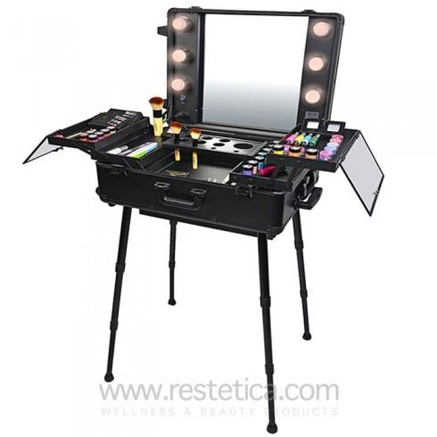 tavolo portatile makeup trucco artista