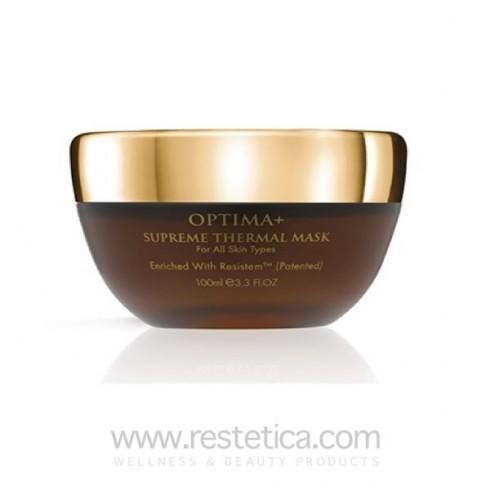 Maschera Optima+ con olio di oliva, Q10 e Resistem - 100 ml