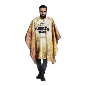 Mantella per taglio capelli Uomo Gordon by To Dress 100% poliestere Misure: 145x140cm