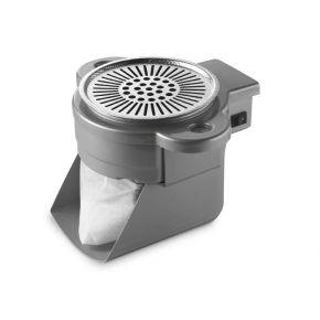 Motore aspiratore da incasso rotondo per aspirare polveri ed odori