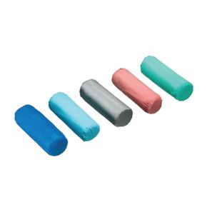Cuscino di forma cilindrica ideale per trattamenti estetici misura diametro 12cm
