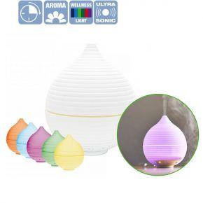 Diffusore di aromi per oli profumati con 5 cambi di colore LED