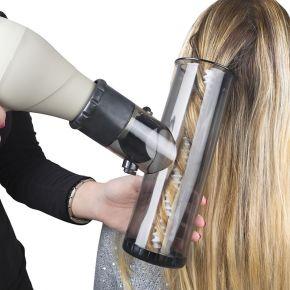 Arricciacapelli universale Bazooka applicabile al phon come un normale diffusore