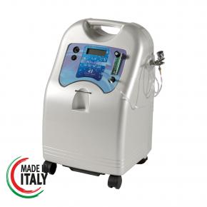 Profusore d'ossigeno portatile per trattamenti di Ossigeno Terapia completo di aeropenna.