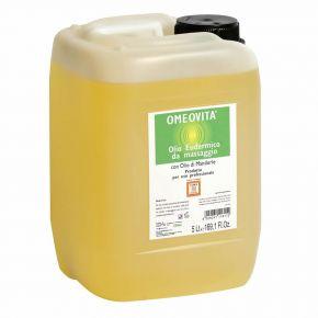 Olio da massaggio prolungato con Olio di mandorle dolci Omeovita - Tanica 5 litri