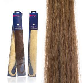 Extension capelli naturali da 50cm colore 12 biondo chiaro dorato sistema Remy - confezione da 20 ciocche