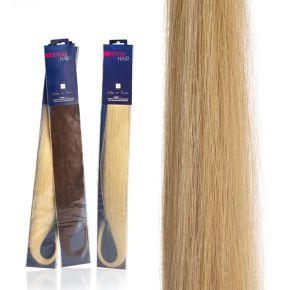 Extension capelli naturali da 50cm colore 140 ultra biondo sistema Remy - confezione da 20 ciocche