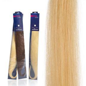 Extension capelli naturali da 50cm colore 2 Bruno sistema Remy - confezione da 20 ciocche