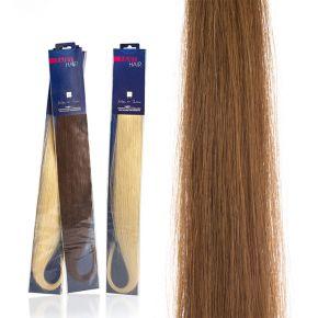Extension capelli naturali da 50cm colore 27 dorato biondo sistema Remy - confezione da 20 ciocche
