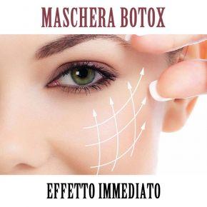 Maschera viso 100% cellulosa viso e collo Trattamento BIOBOTOX linea Georgie