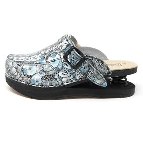 Closed Baldo Clogs w/Lace - Murales