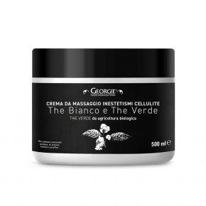 Crema da massaggio vellutata e scorrevole ideale per inestetismi Cellulite linea Georgie 500ml