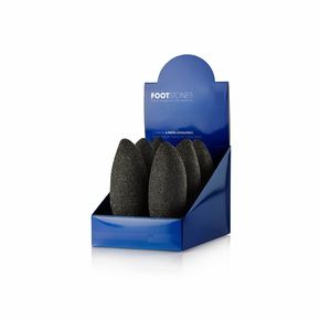 Espositore da banco composto da 6 pietre leviganti Foot Stone