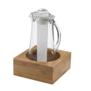 Porta caraffa completa con sistema refrigerante capacità 2 litri