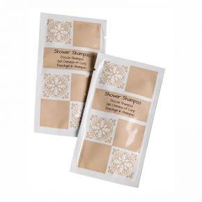 Bagnodoccia shampo monouso linea Acanto in bustina da 100ml - confezione 100 pz