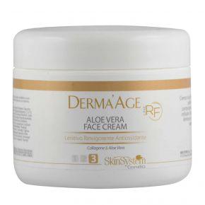 Derma'Age macchinario RF Aloe Vera Face Cream SkinSystem 1010020121 - Vaso 250 ml