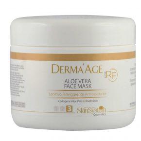 Derma'Age macchinario RF Aloe Vera Face Mask SkinSystem 1010020122 - Vaso 250 ml