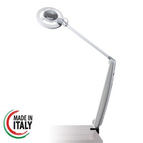Professional LED lamp with magnifying glass AFMA EVO2 for aesthetic medical use