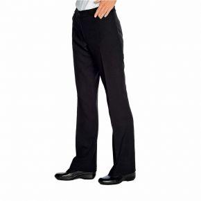 Pantalone con tasche fresco Nero 100% Poliestere - 170gr/m²