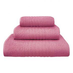 Asciugamano ospite PLISSÈ piccolo 40x60cm Azzurro in morbida spugna di cotone 430g/m² - Confezione 4 asciugamani [CLONE]