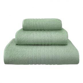 Asciugamano ospite PLISSÈ piccolo 40x60cm Azzurro in morbida spugna di cotone 430g/m² - Confezione 4 asciugamani
