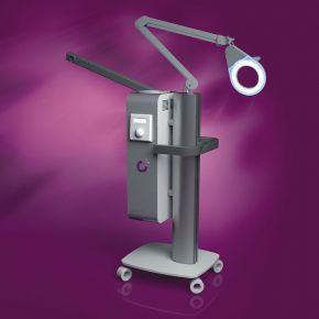 Vaporizzatore ideale per trattamento a vapore, a ozono oppure trattamenti alle erbe ed aromaterapia - serbatoio da 2 litri
