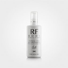 Emulsione iSol Beauty RF BODY EMULSION specifica per Radio Frequenza Corpo - 500ml cod.ISO.RF.500