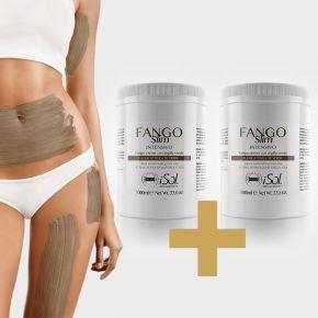 iSol Beauty FANGO-SNELLENTE INTENSIVO con argilla verde ALGHE ATTIVE e TE VERDE  - n2 confezioni da 1000ml cod.ISO.MUD.200