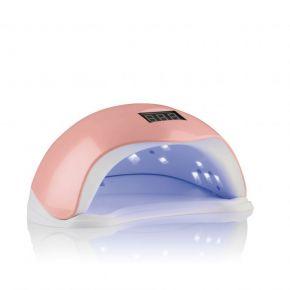 Lampada Unghie Nail Bloom polivalente LED/UV 48 WATT colore rosa cod. RE19H110