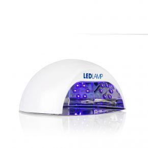 Lampada Unghie LED con base estraibile e tempi rapidissimi colore bianco cod. RE19H192