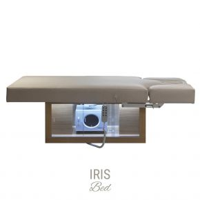 Multifunction bed Iris by Nilo with 4 motors for face, body and massage treatments Cod. N90373