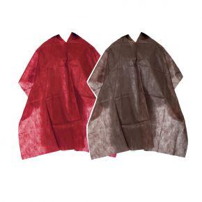 Mantella Cliente per taglio capelli in TNT 50gr misura 100x130cm - confezione da 20 mantelle