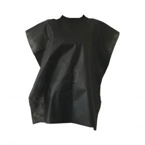 Mantella italiana in TNT nera 40gr misure 75x120 cm - confezione da 10 pezzi