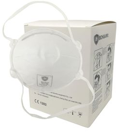 Respiratori filtrante facciale FFP2 CE - confezione box 20 mascherine