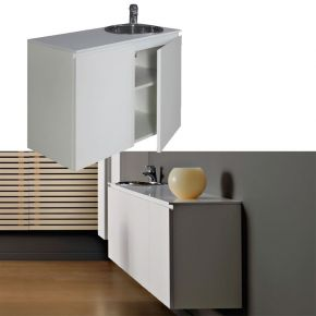 Hanging cabinet with wash basin City Sink by Nilo Cod. N9200