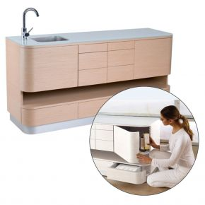 Service unit Kiwi by Nilo with compartments and drawers Cod. N93001