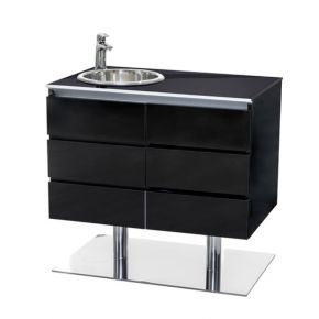 Cabinet Skyline Premium by Nilo with ennobled particle board structure Cod. N9412