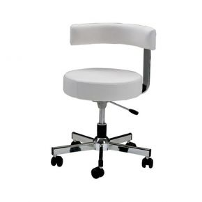 Height-adjustable stool Podo Pro by Nilo with gas pump Cod. N8073