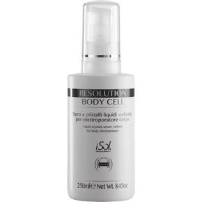 iSol Beauty RESOLUTION BODY CELL ELECTROPORATOR - 250 ml cod.ISO.POR.500