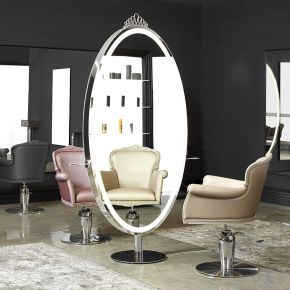 Two-seater free-standing styling unit Grimhilde Plus by Nilo Cod. P50522