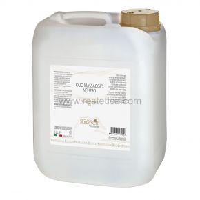 Olio da massaggio neutro  SkinSystem 0040020024 - Tanica 5 lt