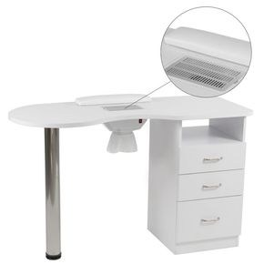Manicure Table MILLY with double drawers