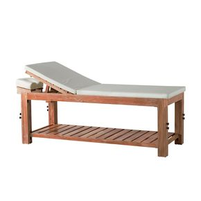 WOODEN massaging bed - with coconut fiber mattress and pillows