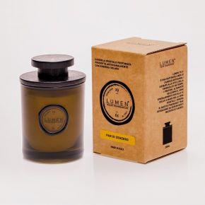 Candela Vegetale 19.61 ml.200 PANE E ZENZERO con tappo legno by Cereria Lumen - EAN 8001974012084