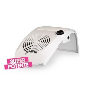 Aspiratore Super Nail Duster per polveri sottili con cuscino poggiamano