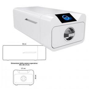 Autoclave Enbio PRO per sterilizzare strumenti sfusi e imbustati capacità 5,3Lt - CLASSE B