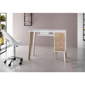 Console manicure COMFORTABLE LX by Artecno with Drawer with sterilizer inside