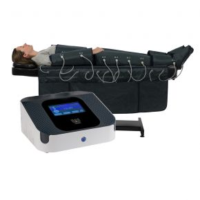 Pressotherapy digital instrument with touch screen and 4 working programmes