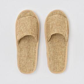 Pantofola in ECO Friendly in JUTA e cartone a punta aperta biodegradabile